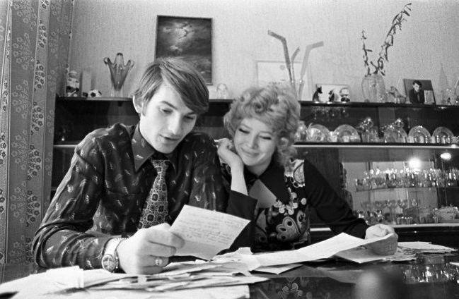 Владислав Третьяк і його дружина