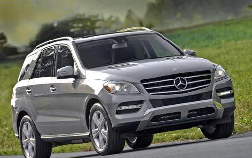Фото - Позашляховик Mercedes-Benz ML: технічні характеристики, фото та відгуки