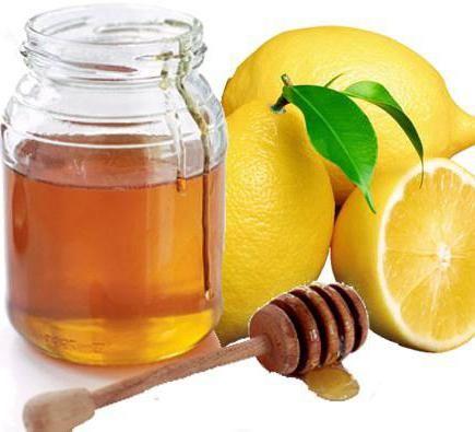 вода натщесерце з лимоном і медом