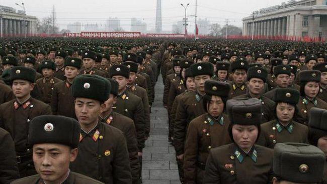 армія кндр чисельність