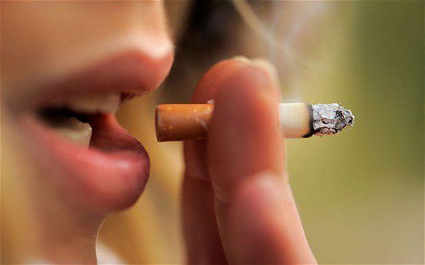шкоду куріння для жінок