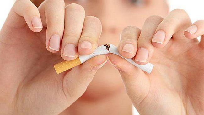 вплив куріння на вагітність