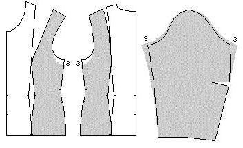 викрійка піджака жіночого приталеного