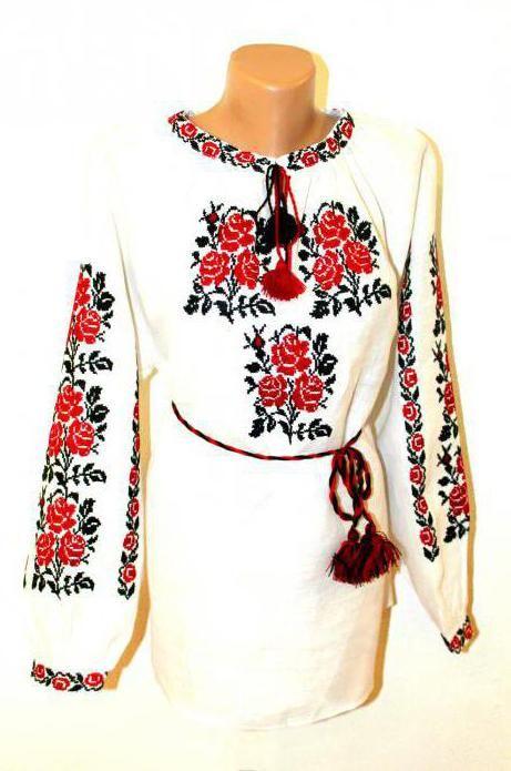 вишивка хрестом на одязі