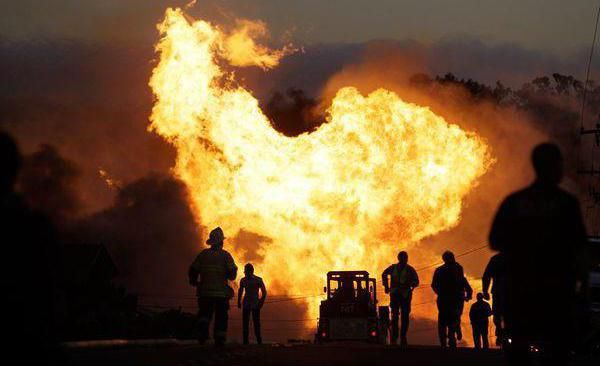 вибух побутового газу