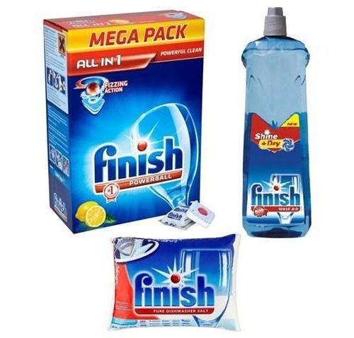 Фото - Навіщо потрібна сіль для посудомийної машини Finish?