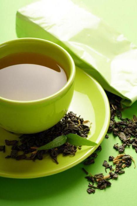 зелений цейлонський чай