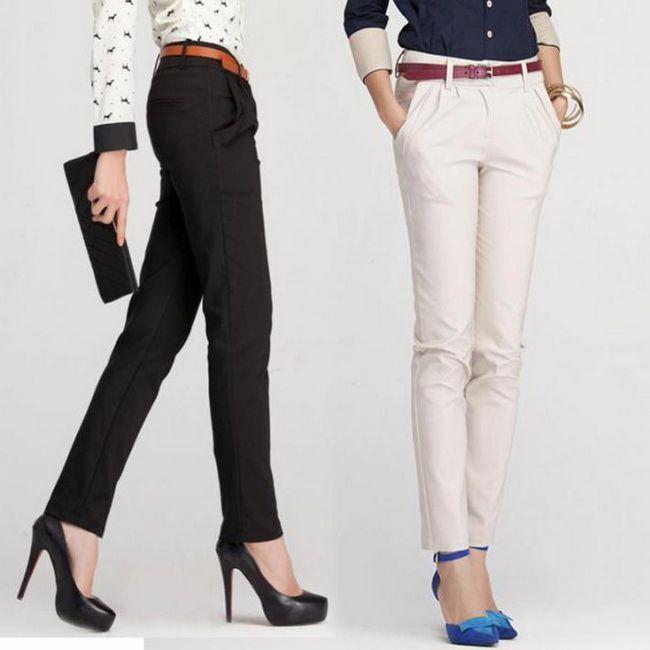 класичні брюки жіночі фото