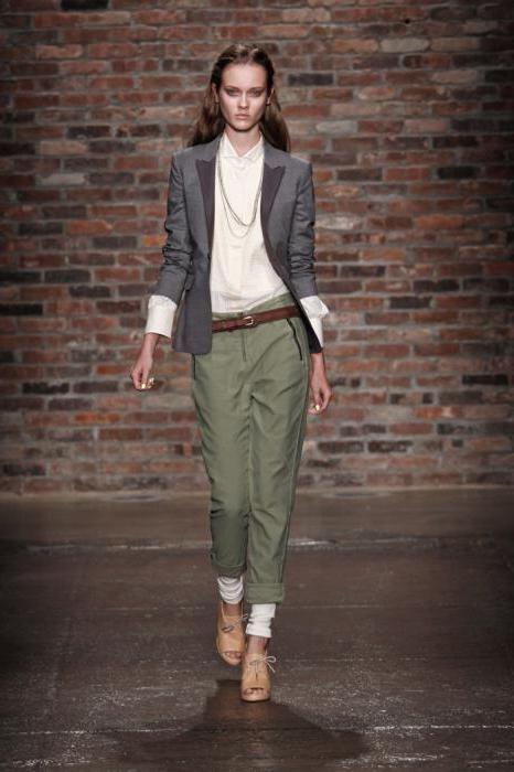 класичні брюки завужені донизу жіночі