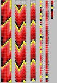 джгут з бісеру схеми плетіння з голкою