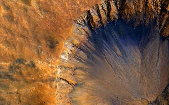 Де на Марсі вода
