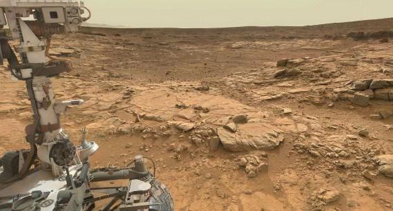 Солона вода на Марсі