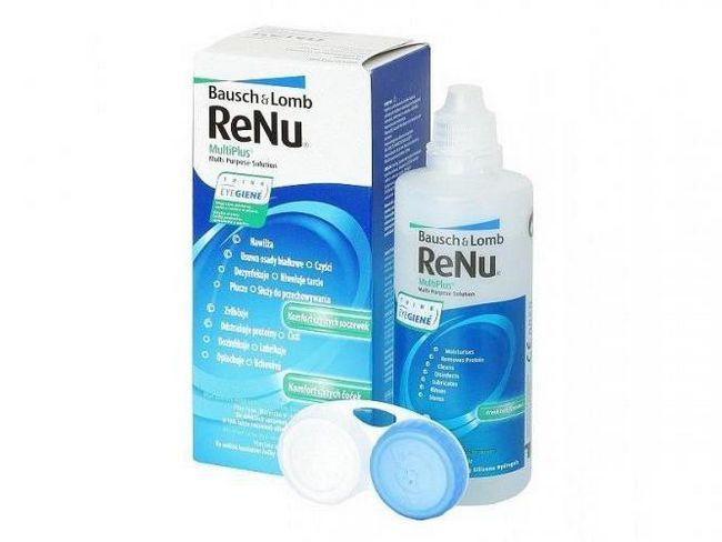 Фото - Рідина для лінз ReNu: інструкція та відгуки