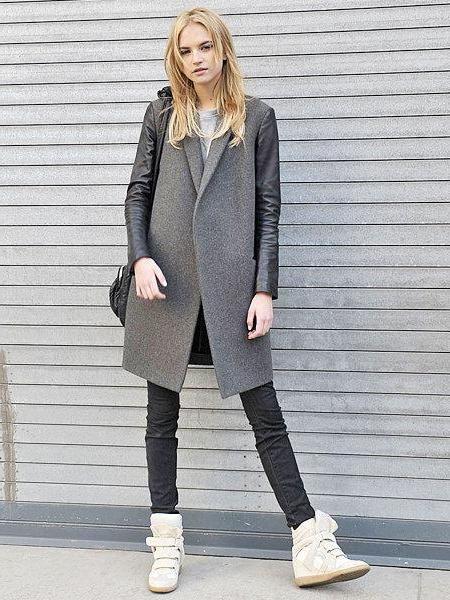 Фото - Зимові снікерси жіночі. З чим носити снікерси жіночі? Фото модних жіночих снікерсів
