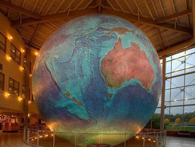 Найбільший глобус у світі