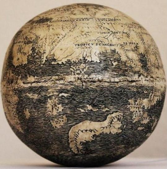 Хто автор першого глобуса?