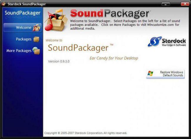 звукові схеми для windows 7